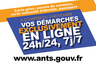 Vos d marches administratives se font uniquement en ligne for Ants interieur gouv fr passeport
