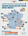 La Police Nationale fait son Tour de France du recrutement !