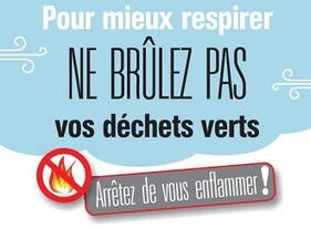 Que faire des déchets verts ? Attention, brûlage interdit !