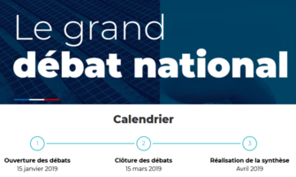 Grand débat national : Point d'étape à mi-parcours